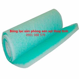 Bông lọc sàn phòng sơn sợi thủy tinh