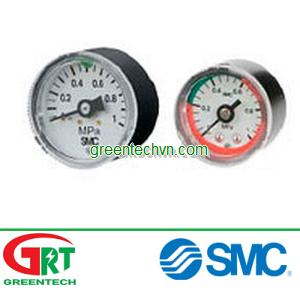 Pressure gauge / Bourdon tube / dial / process ø 15 - 42 | Đồng hồ áp suất SMC | SMC Vietnam | SMC