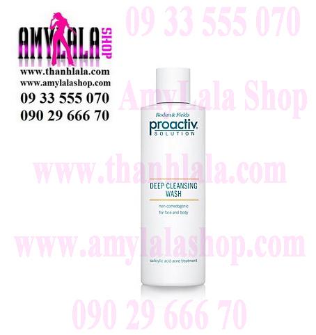 Tắm rửa mặt trị mụn trắng da Proactiv Solution Deep Cleansing Wash 2in1 Face Body 240ml - 0933555070