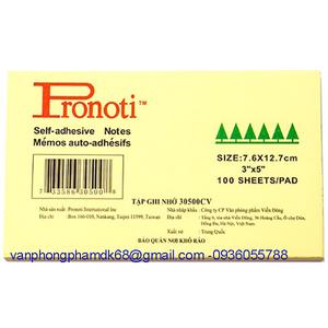 Giấy nhắn Pronoti 3x5