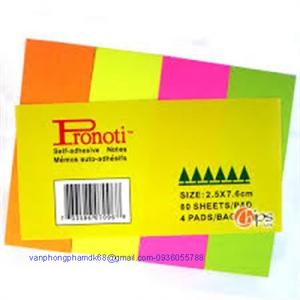 Giấy phân trang Pronoti 4 màu
