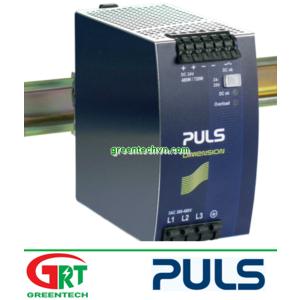 Puls QT20.241-C1 | Puls | Bộ nguồn 3-phase 24VDC, 20A gắn Dinrail | Puls Vietnam