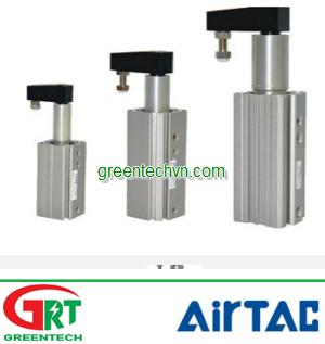 Pneumatic clamp 16 - 63 mm, 145 psi | QCK series | Airtac Vietnam | Khí nén Airtac
