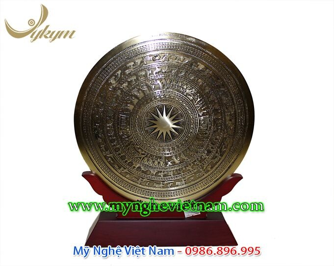Biểu trưng mặt trống đồng đk 20cm - 25cm