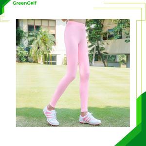 Quần Bó Đánh Golf Vải Lụa Chống Nắng Cho Nữ