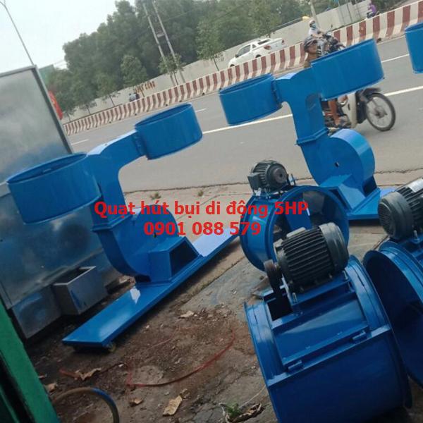 Quạt hút bị di động 5HP ống D125