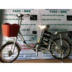 QUẠT & LED 12V/220V lấy điện từ xe đạp