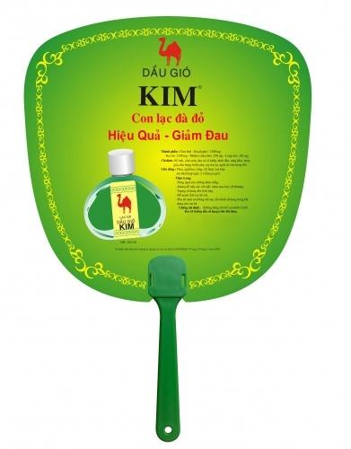 Sản xuất quạt nhựa quảng cáo, quạt cầm tay Model: PN-005