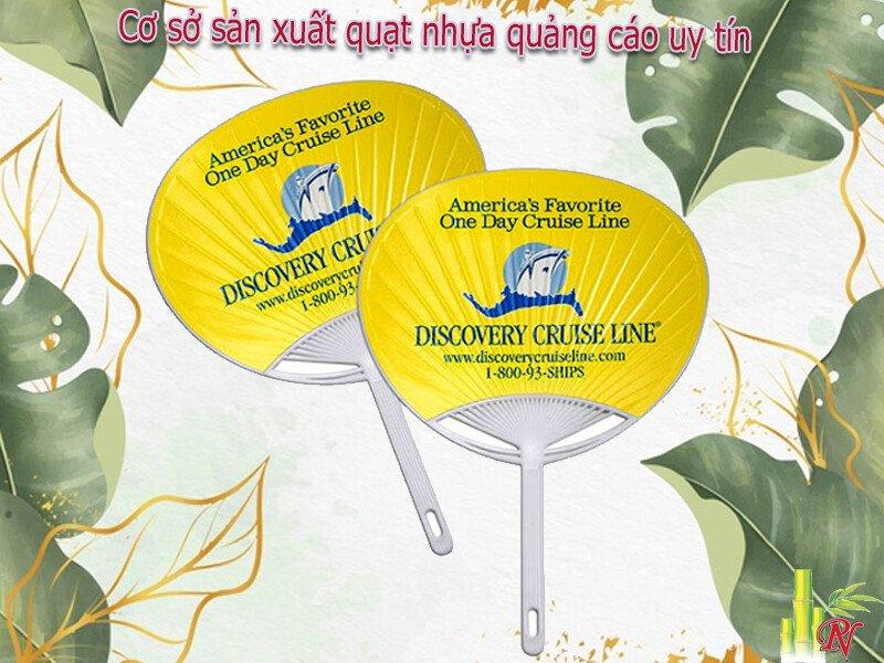 Đơn vị chuyên sản xuất, cung cấp quạt nhựa quảng cáo tại TP.HCM - Phụng Nghi