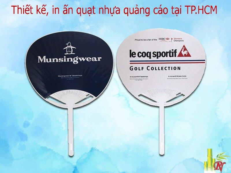 Cung cấp, phân phối quạt nhựa quảng cáo tại TP.HCM - Phụng Nghi