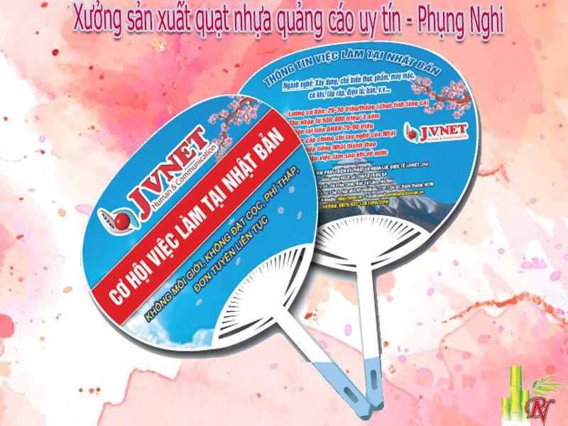 Xưởng sản xuất quạt nhựa quảng cáo uy tín - Phụng Nghi