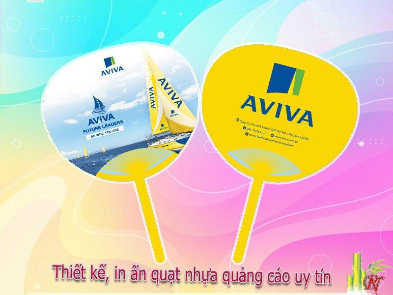 Thiết kế quạt nhựa quảng cáo, in quạt nhựa theo yêu cầu tại HCM - Phụng Nghi