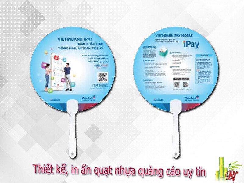 Thiết kế, in ấn quạt nhựa quảng cáo uy tín tại TP.HCM