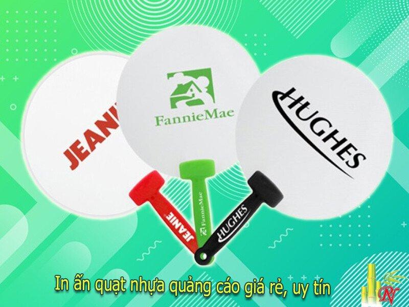 Nơi làm quạt nhựa quảng cáo uy tín, chất lượng tại TP.HCM