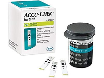 Que thử đường huyết Accu-Chek Instant 50