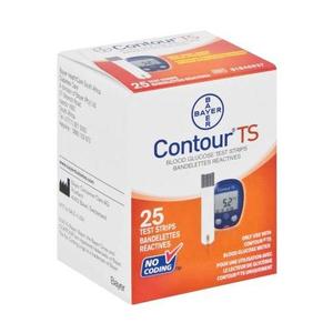 Que thử đường huyết ContourTS 25