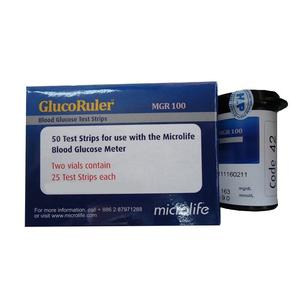 Que thử đường huyết GlucoRuler MGR 100 50
