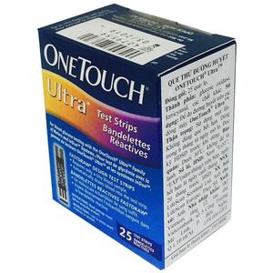 Que thử đường huyết OneTouch Ultra 25