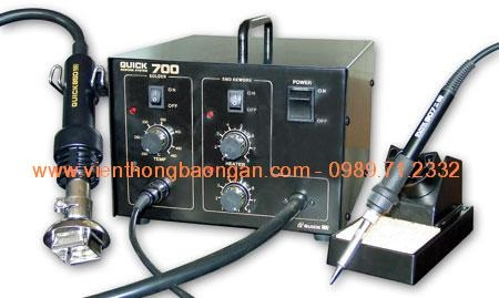 Quick 700ESD - 2 in 1 Rework Station - Original Product