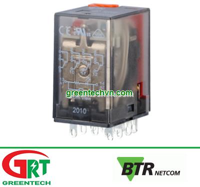BTR R274   BTRnetcom R274   Rơ-le 4 cặp tiếp điểm R274   4 changeover contacts BTR R274