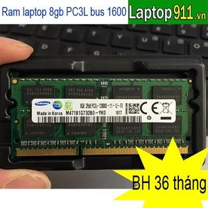 ram laptop 8gb PC3L samsung (mới)