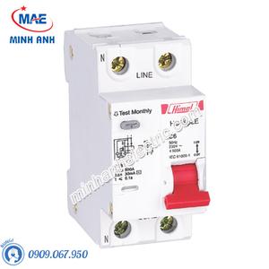 RCBO 1P+N 40A 30mA 4.5kA - Model HDB6PLEC40
