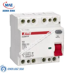 RCCB 4P 100A 100mA - Model HDB6VR4100YC