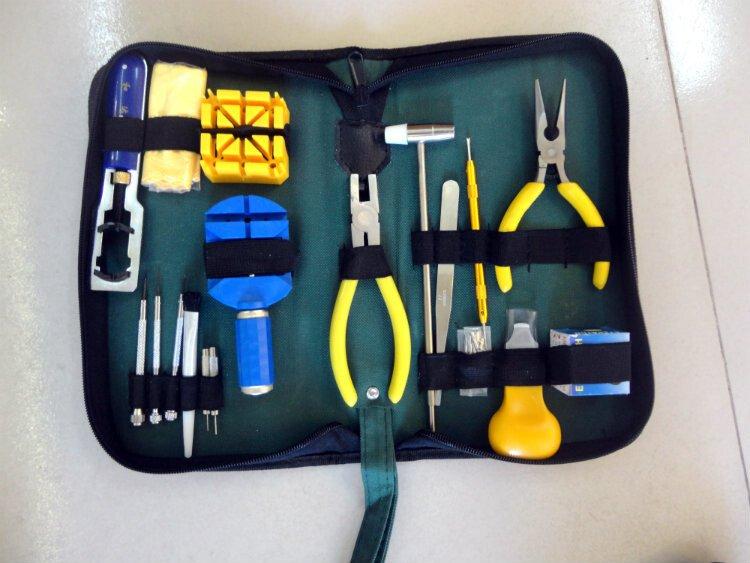 Bộ dụng cụ sửa chữa đồng hồ malaysia 18 chi tiết