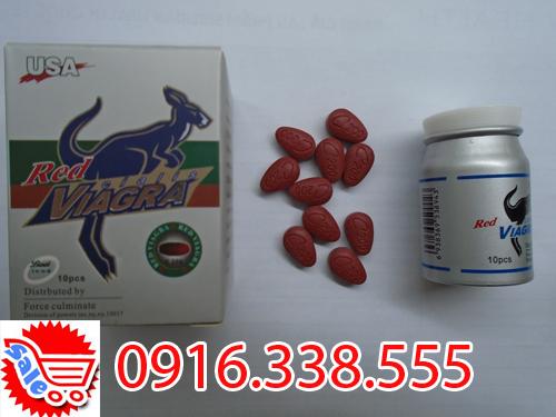 Thuốc Hỗ Trợ Trị rối loạn chức năng cương dương- Thuốc Red Viagra 800 mg 4012 USA Male Enhancement