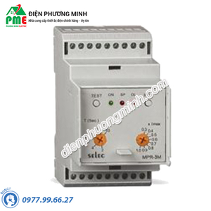 Relay bảo vệ dòng điện 3 pha MPR-3M-2-230V Selec - Model MPR-3M-2-230V