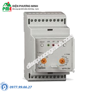 Relay bảo vệ dòng điện 3 pha MPR-3M-2-415V Selec - Model MPR-3M-2-415V