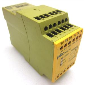 Safety relay Pilz, rờ le an toàn Pilz, PNOZ s3 24VDC 2 n/o, Pilz vietnam, đại lý Pilz Vietnam