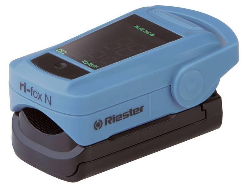 Máy đo nồng độ oxy bão hòa trong máu và nhịp xung Riester ri-fox N 1905