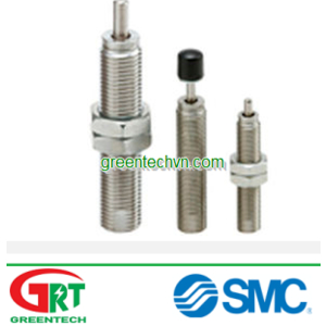 Shock absorber / pneumatic 4 - 25 mm   RJ series  SMC Pneumatic   SMC Vietnam