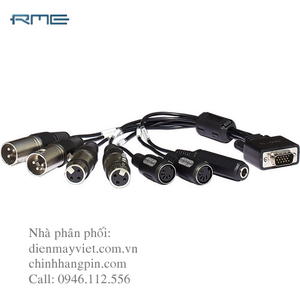 RME Balanced Breakout Cable
