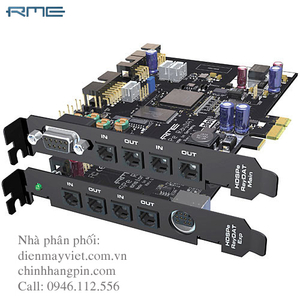 RME HDSPe RayDAT - 36 Channel Digital Audio & MIDI PCI
