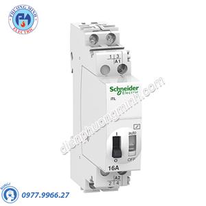 Rờ-le ACTI9 điều khiển bằng tín hiệu xung, iTL, ON-OFF switch 2P 2NO 16A- Model A9C30812