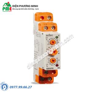 Rơ le bảo vệ điện áp 600VPR- 310 / 520 Selec - Model 600VPR- 310 / 520