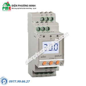 Rơ le bảo vệ dòng điện 3 pha Selec - Model 900CPR-3-230V