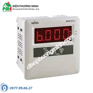 Rơ le bảo vệ dòng điện MPR-341-2 Selec - Model MPR-341-2
