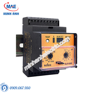 Rơ le bảo vệ - Model ELR600 protection relay (relay bảo vệ)