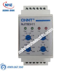 Rơ le bảo vệ pha & điện áp - Model NJYB3-8 AC380V (mini type)