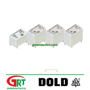 Rơ le điện 24VDC | 24VDC electromechanical relay| Dold Vietnam
