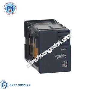 Rơ le REXO có đèn chỉ thị 5A 24VAC 2CO - Model RXM2LB2B7