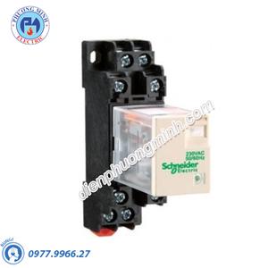Rơ le REXO không đèn chỉ thị 5A 24VDC 2CO - Model RXM2LB1BD