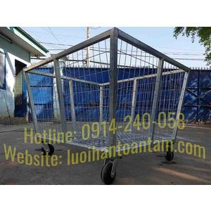 Rọ lưới thép chứa hàng