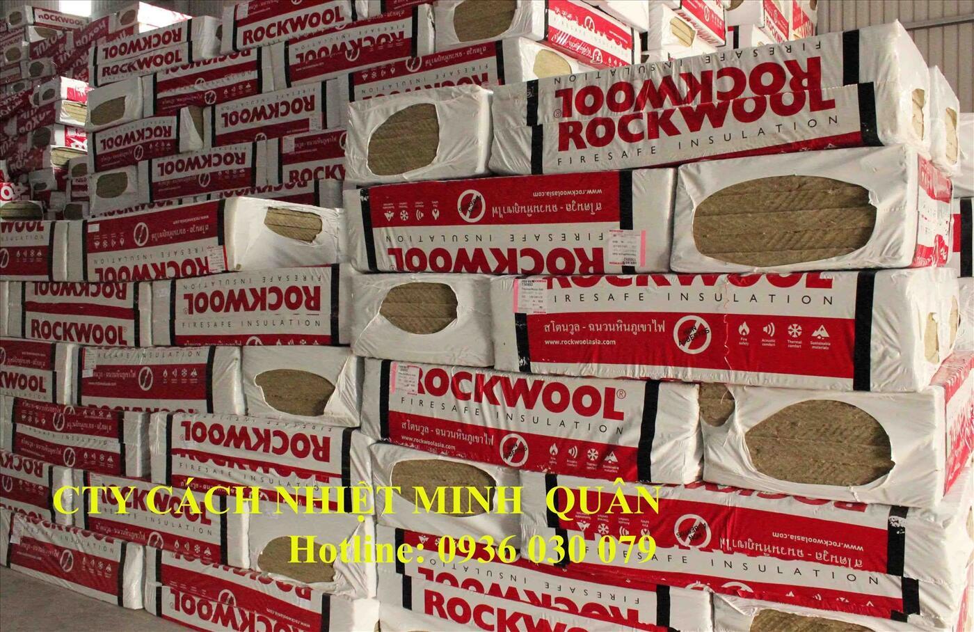 Bông khoáng Rockwol Thái Lan Roxul dày 50mm