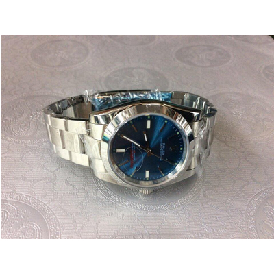 Rolex Oyster Perpetual Blue Dial Stainless Steel 36mm 114200