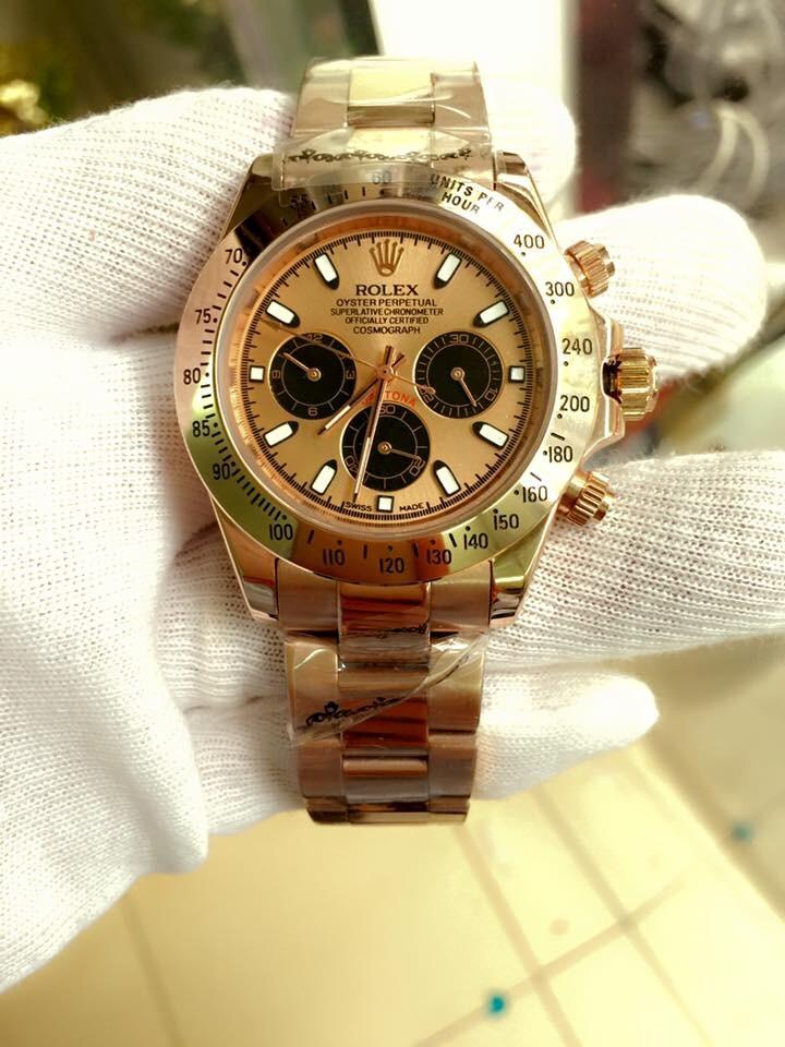 Rolex Oyster Perpetual Cosmograph Daytona 18K Everose gold 116505 Men's Watch