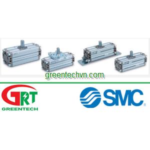Rotary actuator / pneumatic / double-acting / compact ø 30 - 100 mm | CRA1 series| SMC Vietnam | SMC